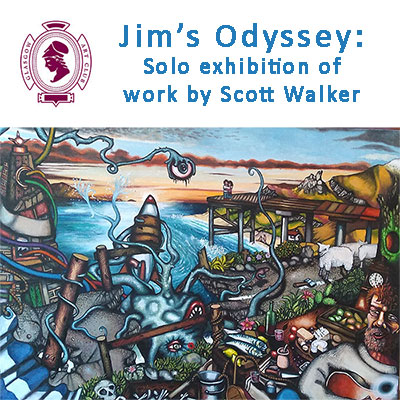 Jim's Odyssey: Solo Exhibition by Scott Walker